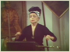 Clara Rockmore plays the Theremin