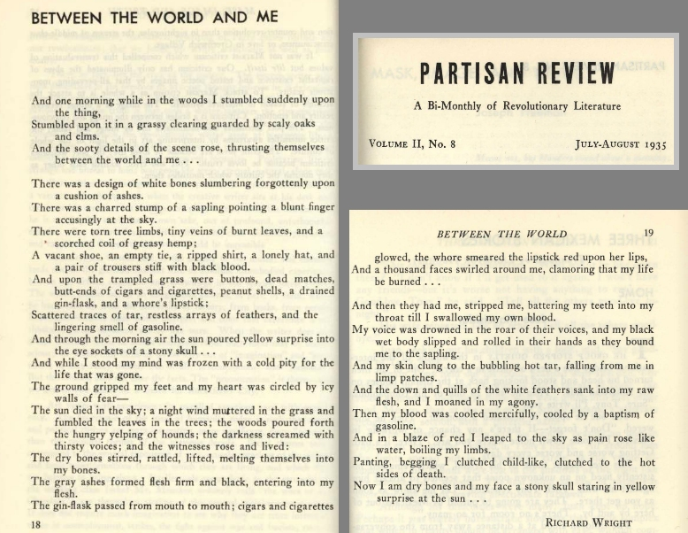 Jon Woodson: Anti-Lynching Poems in the 1930s